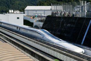 Самый быстрый в мире поезд на магнитной подушке