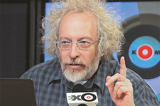 Главный редактор радиостанции «Эхо Москвы» Алексей Венедиктов.