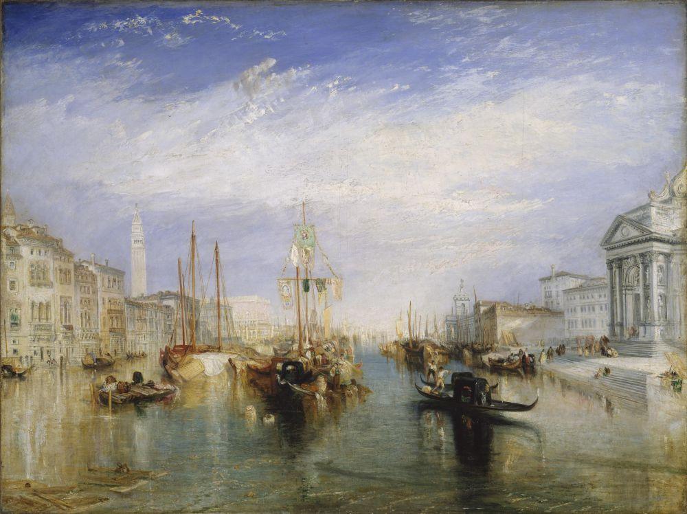 После посещения Тернером Италии в 1819 году полотна художника стали более красочными и яркими. Но зрители Викторианской эпохи, которые предпочитали фотографическую точность в живописи, с трудом могли воспринимать яркую цветовую гамму, присущую картинам художника.
