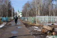 Новое кладбище под Киевом
