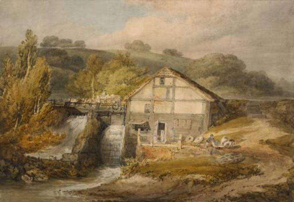 Именно в Брентфорде Тернер проявил тягу к рисованию. После школы он отправился в Лондон, где работал у архитекторов и топографов. В 14 лет Тернер поступил в Королевскую академию, и уже через год работы Тернера выставляли на выставке Академии художеств.