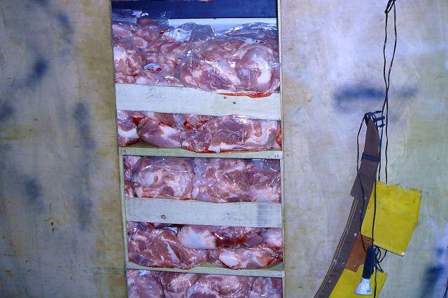 Мясо поместили на изолированное хранение.