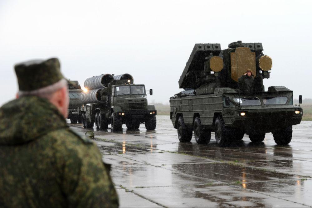 Репетиция Парада Ростовской области: зенитный ракетный комплекс «Оса».