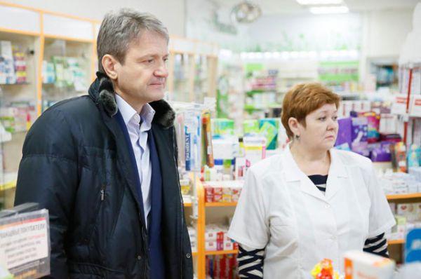 Губернатор провел совещание с представителями аптечных управлений и главврачами Кубани, январь 2015 год.