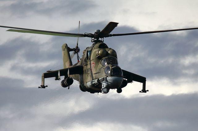 Ударные вертолеты Ми-24 также примут участие в военно-морском параде.