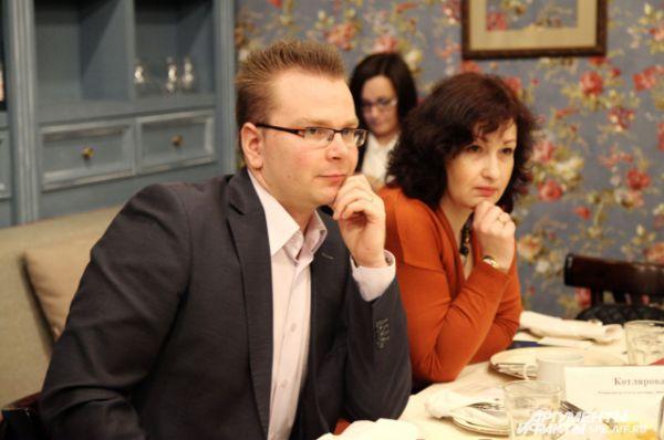 Алексей Молодцов и Светлана Котлярова
