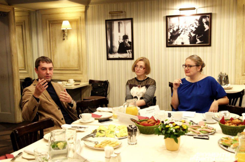 Алексей Баринов, Ксения Оборина, Ксения Якубовская