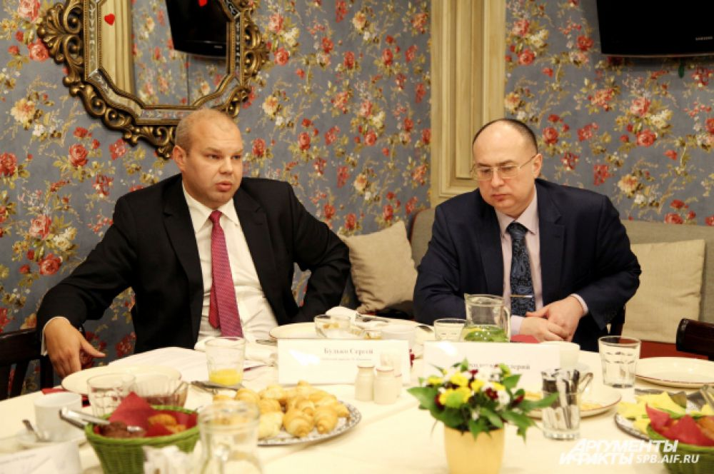 Сергей Будько и Валерий Соколенко