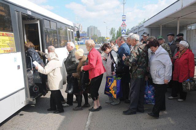 Дачные автобусы будут работать