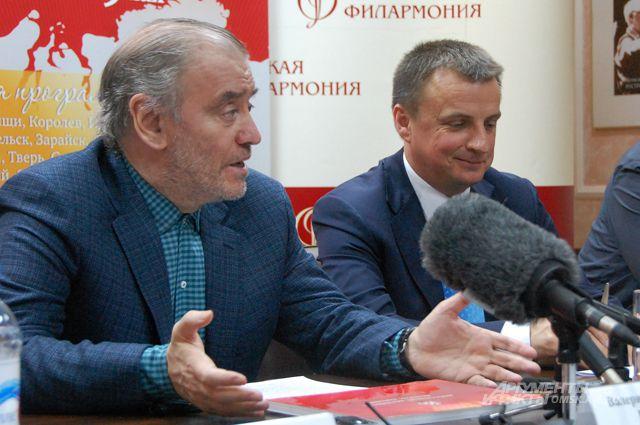 Дирижёр Валерий Гергиев встретился с журналистами.