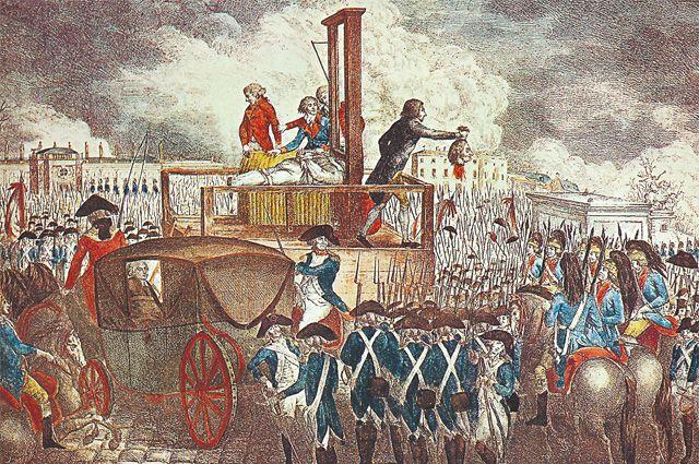 Людовику XVI посчастливилось уйти из жизни вполне цивилизованным путём - посредством гильотины.