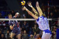 В полуфинале сургутяне уступили волейболистам из Белгорода.
