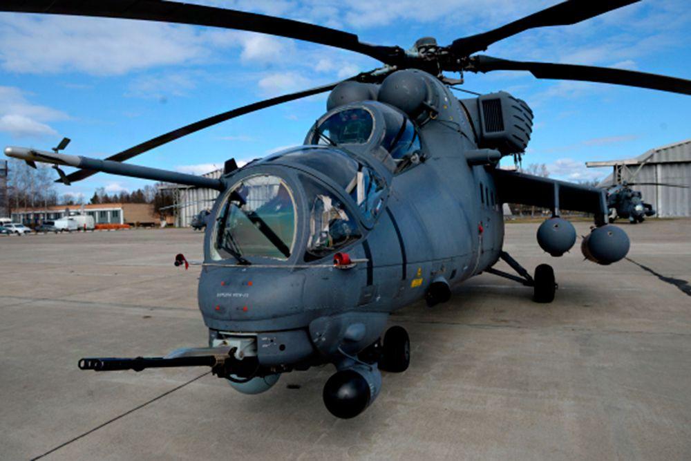 Вертолет Ми-24.