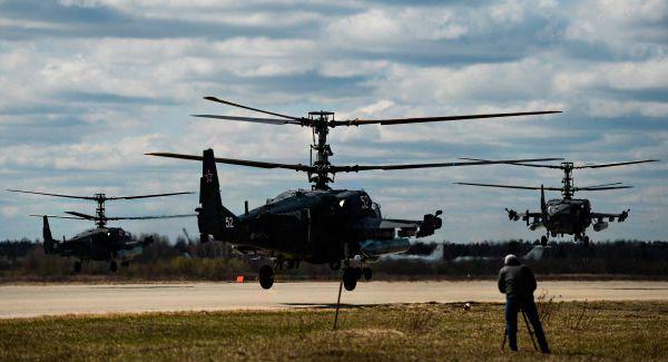 Вертолет Ка-52.