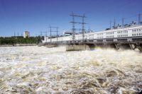 """30 кубометров воды """"прибудет"""" на гидростанцию."""