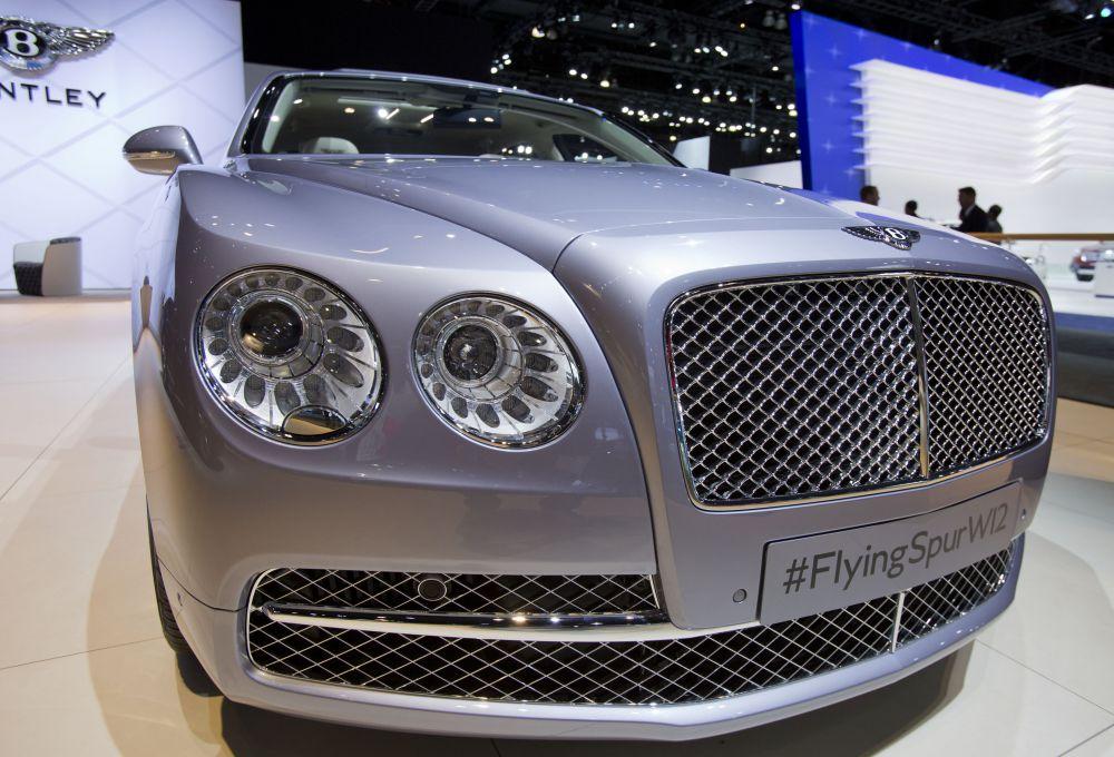Bentley Flying Spur стал лучшим среди автомобилей премиального класса.