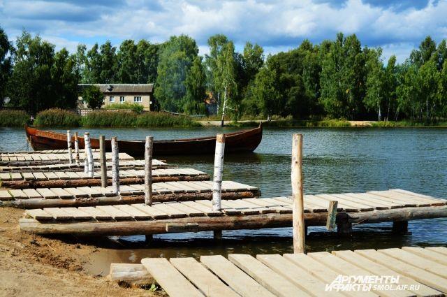 Озеро Ключевое в Красном бору.