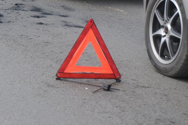 Авария произошла на Левом берегу Омска.