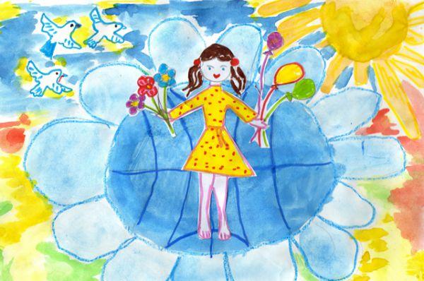 Участник №113. Яковлева Александра, 5 лет