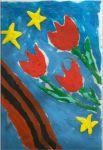 """Участник №66. Попова Анастасия, """"Да здравствует Победа!"""". МБДОУ детский сад 3124"""