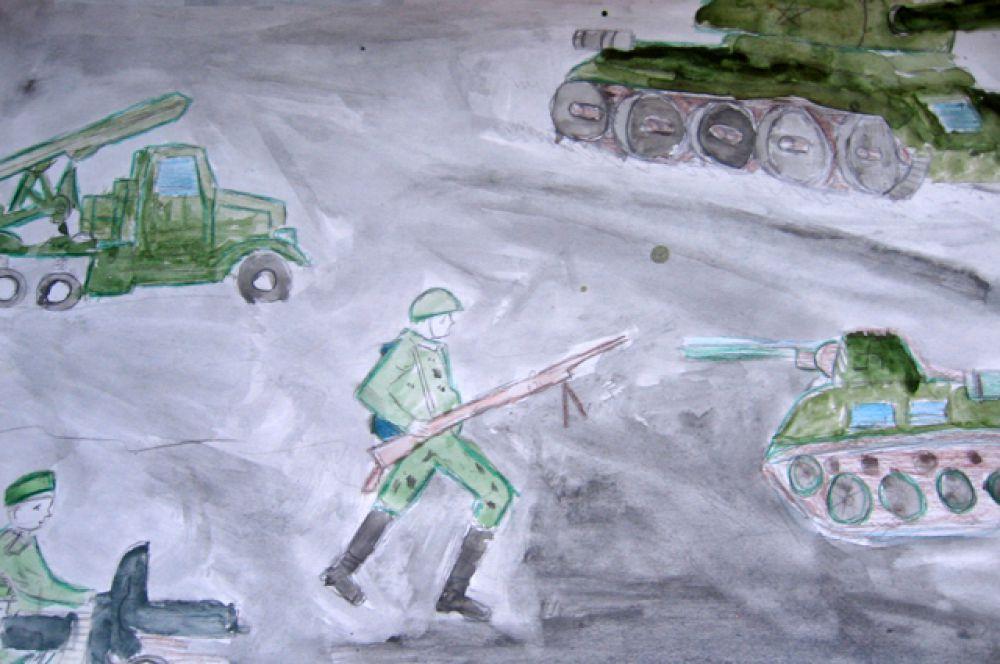"Участник №99. Мохряков Кирилл, ""Атака"". Ангарск, гимназия №8, 6 класс."