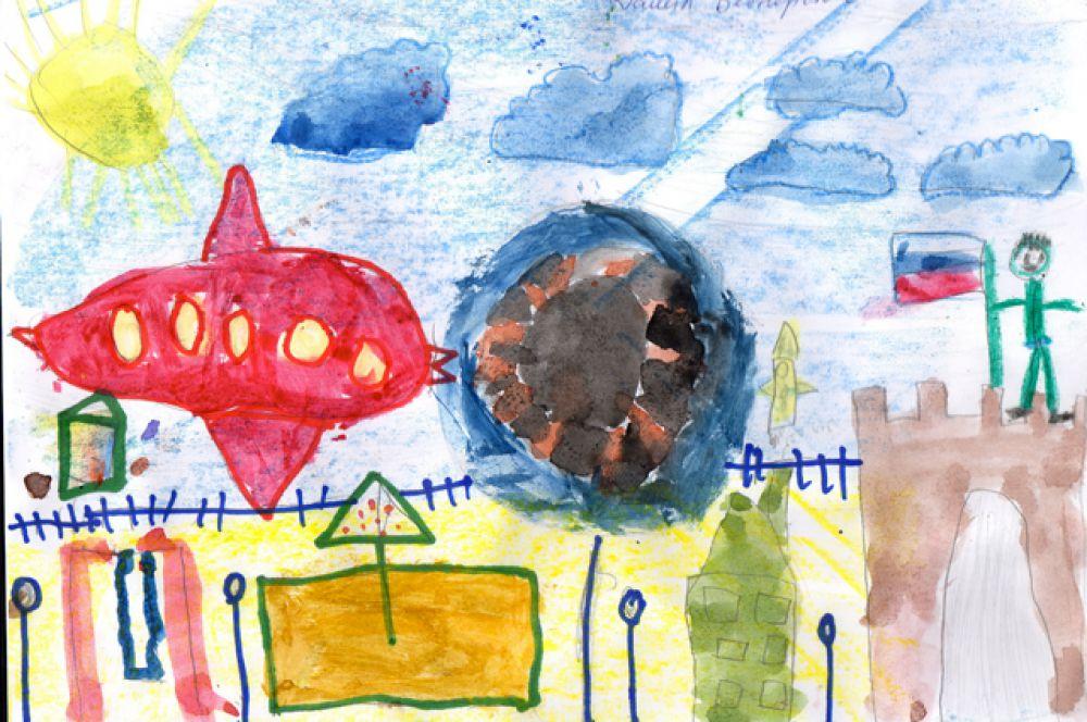 Участник №110. Бесперстов Данил, 6 лет
