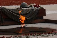 Частица Вечного огня будет передана делегатам из Омской области.