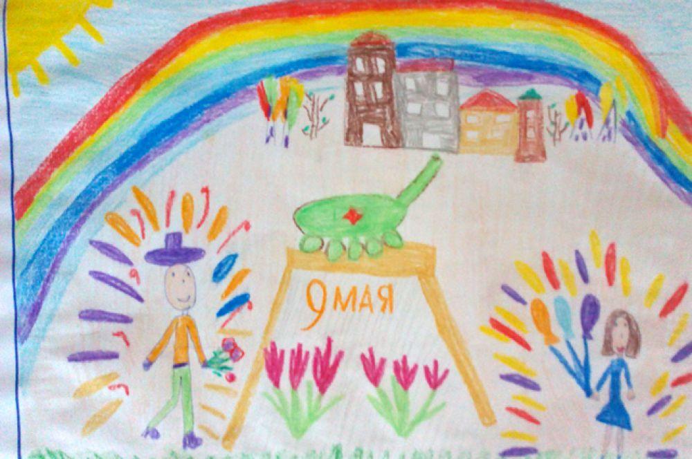 Участник №196. Минжурова Даша, детский сад  №150