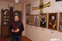 Андрей Баринов задумал открыть музей в бывшей резиденции тевтонцев.