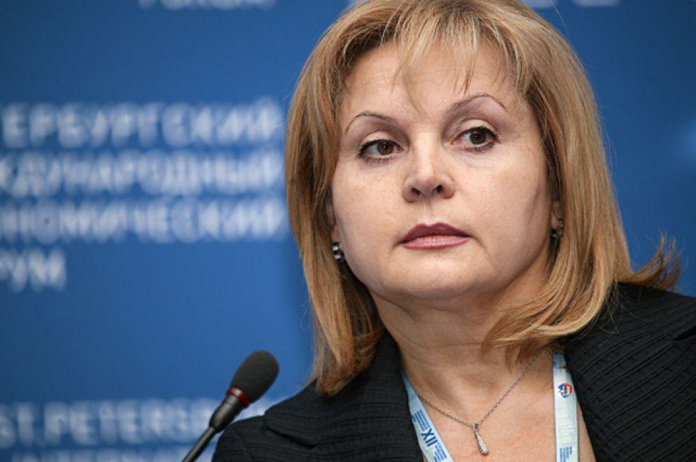 Элла Памфилова, уполномоченный по правам человека в РФ, заняла в рейтинге шестое место.