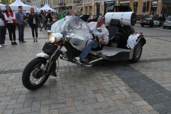 В Киеве прошел самый масштабный в истории мотопробег