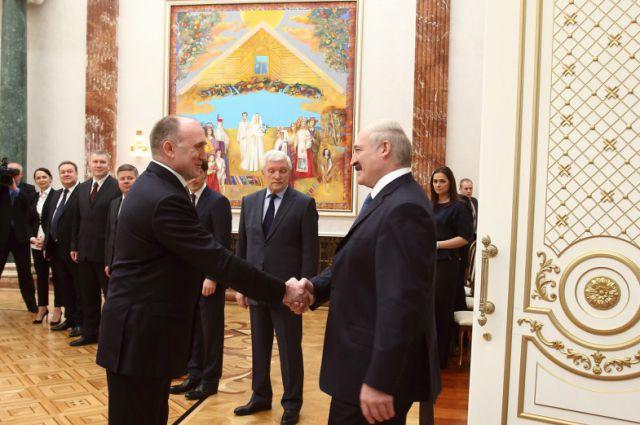 Борис Дубровский и Александр Лукашенко.