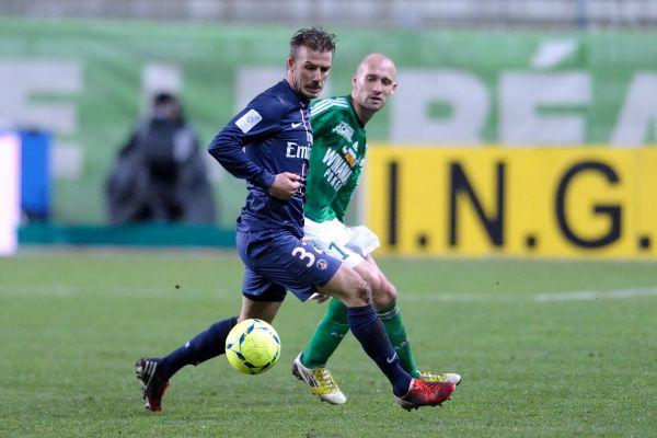 В начале  2013 года Бекхэм перешёл во французский «Пари Сен-Жермен». В течение всего времени игры во Франции англичанин передавал всю свою зарплату местной благотворительной организации.
