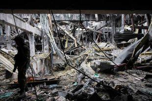 ОБСЕ сообщает о применении в районе аэропорта Донецка тяжелых минометов