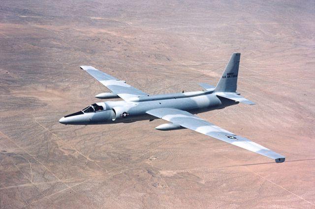 Lockheed U-2C в полёте.