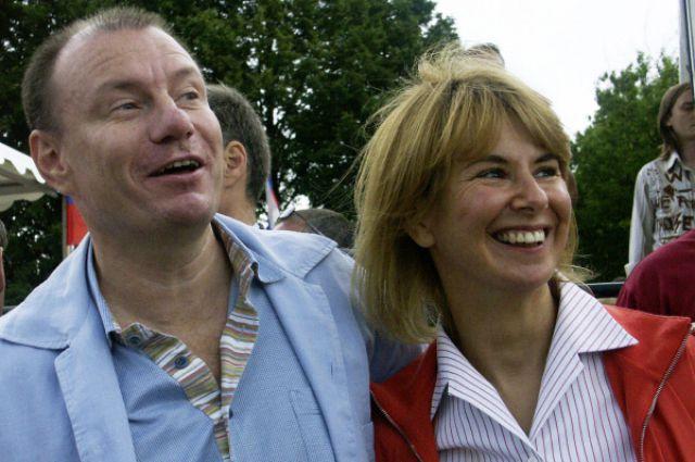 Владимир Потанин и его бывшая супруга Наталия Потанина. 2004 год.