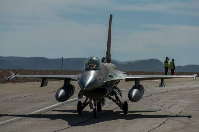 Бельгийские истребители F-16 также продолжат дежурство над Балтийским морем.