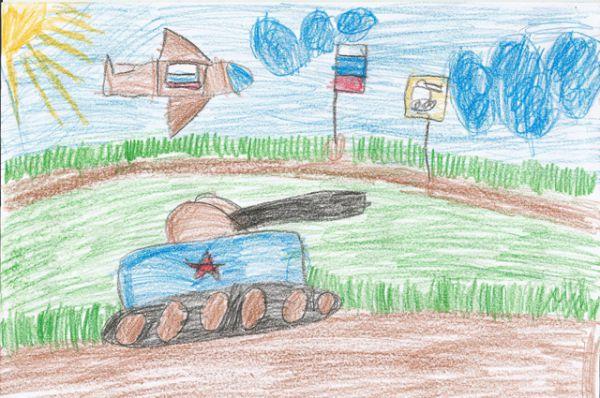 Участник №223. Жарова Оля, 6 лет.