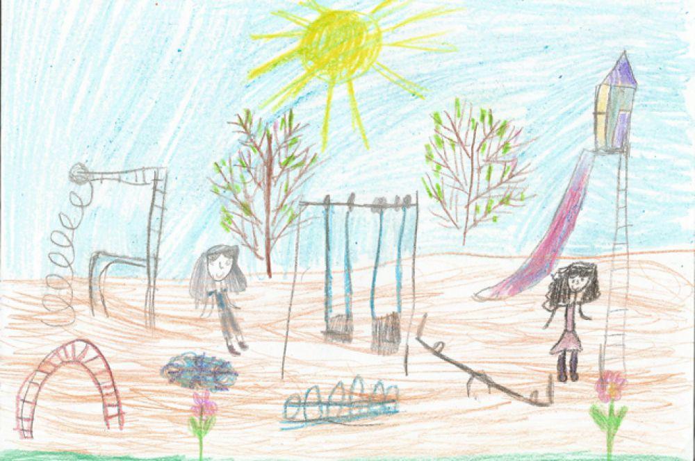 Участник №225. Пустоводова Лиза, 7 лет.