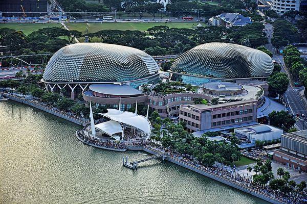 Отель Esplanade Theatres. Сингапур.