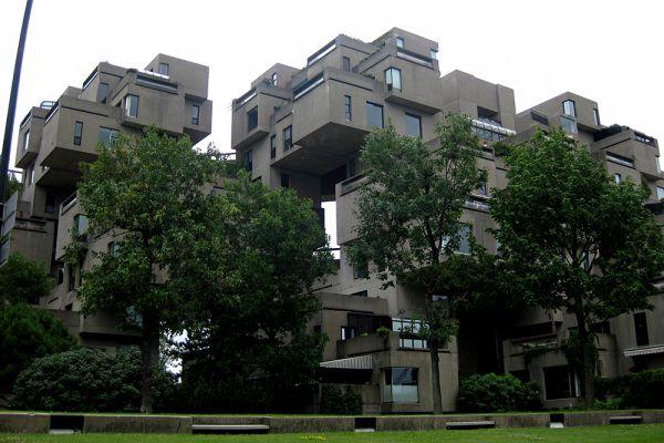 Многоквартирный дом Habitat 67. Монреаль, Канада.