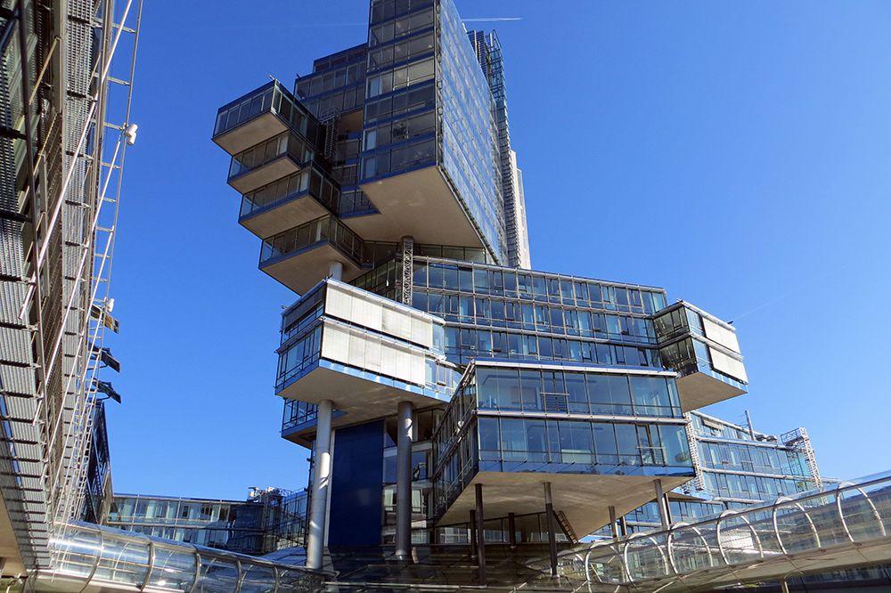 Nord LB building в Ганновере, Германия.