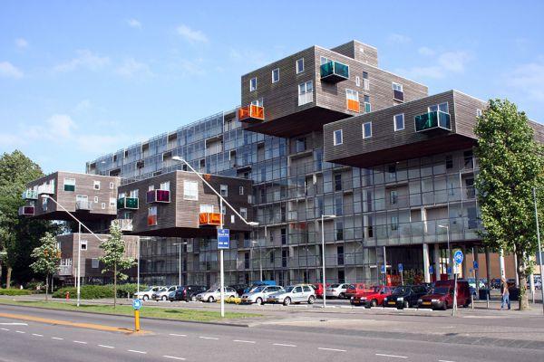 Wozoco Apartments. Амстердам, Голландия.