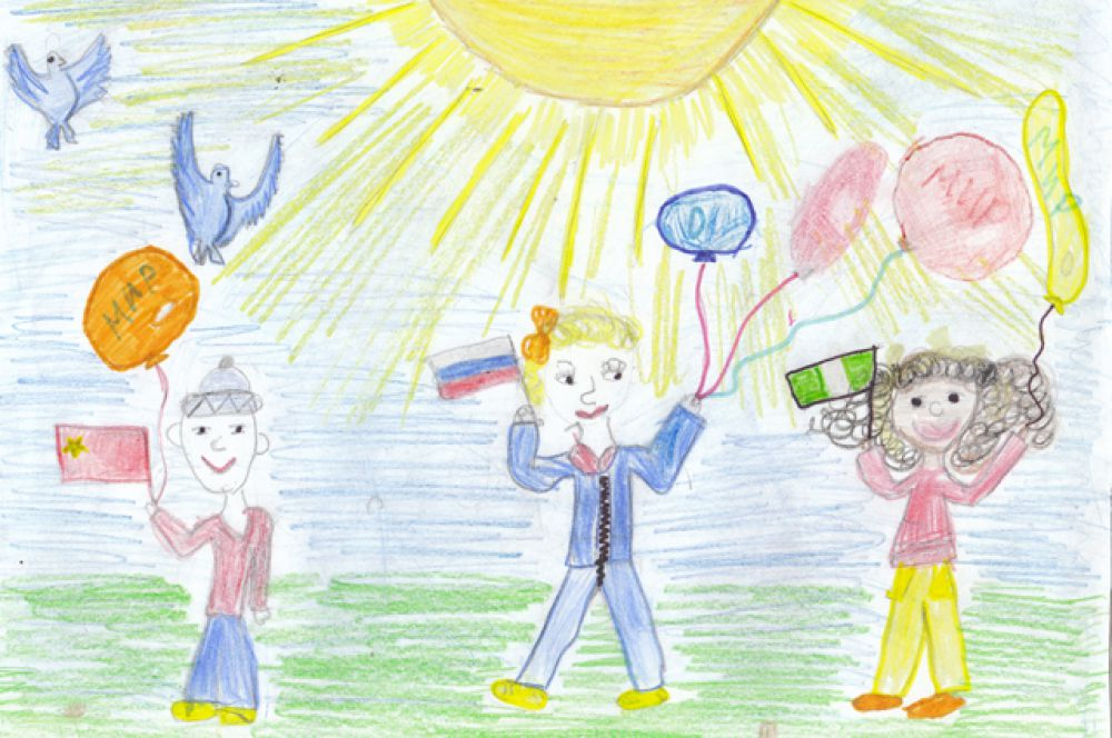 Участник №349. Белоусова Полина, 5 лет