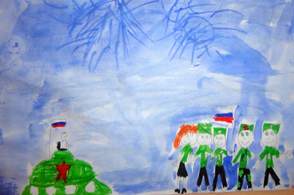 Участник №335. Фадеева Катя , 7 лет, МБДОУ № 81