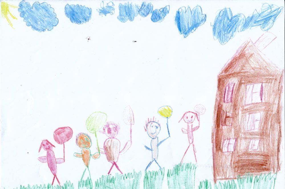 Участник №346. Покусина Кристина, 5 лет.