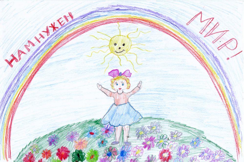 Участник №356. Горностаева Настя, 6 лет