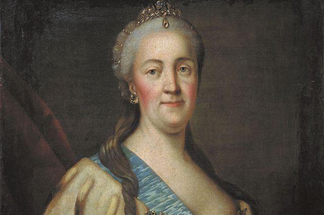Портрет Екатерины II. Иван Саблуков. 1770-е.