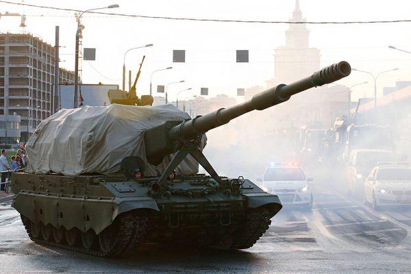 Самоходная артиллерийская установка (САУ) «Коалиция-СВ».