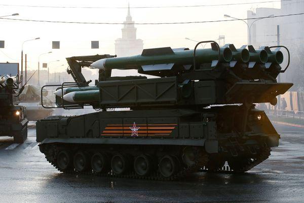 Зенитно-ракетный комплекс «БУК».